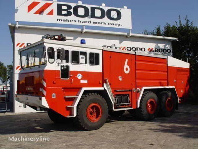 аэродромный пожарный автомобиль FAUN 6x6