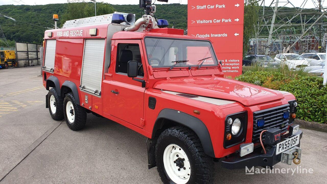 аэродромный пожарный автомобиль Land Rover 6x6