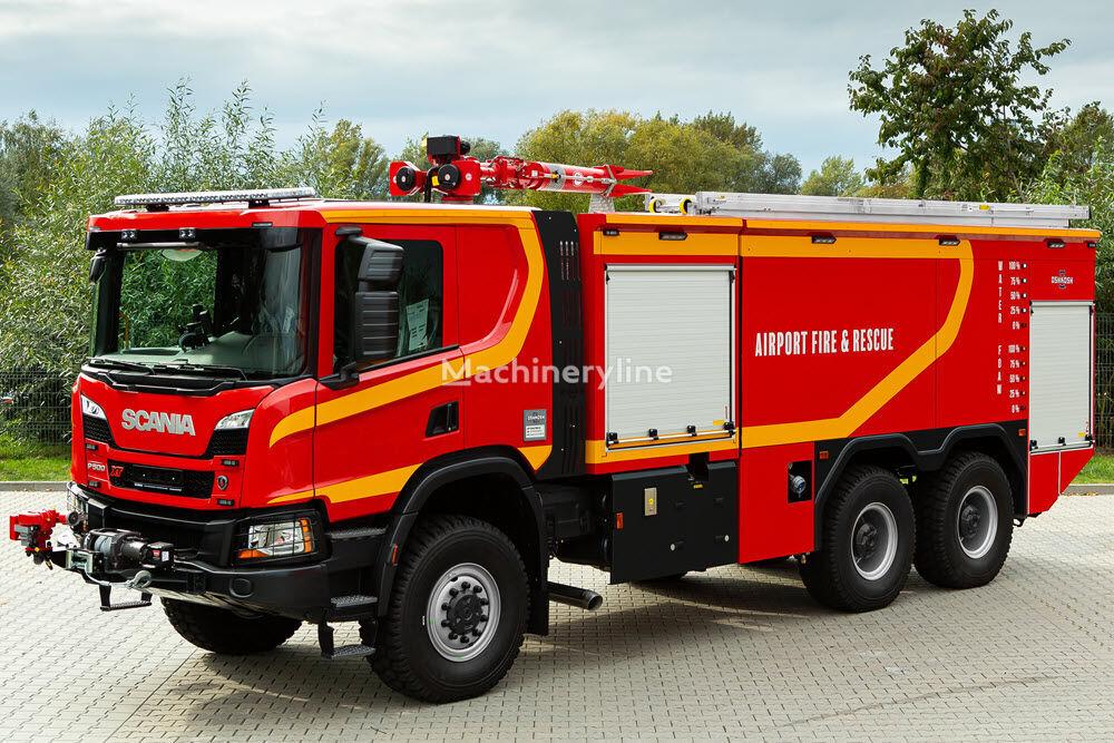 новый аэродромный пожарный автомобиль Oshkosh 6x6 ARV