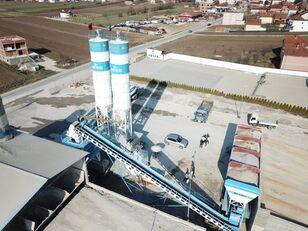 новый бетонный завод Fabo Powermix-100 Стационарная Бетоносмесительная Установка