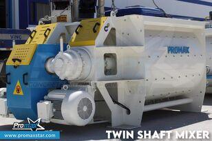 новый бетонный завод PROMAX Двухвальный смеситель 3 м3 /2 м3